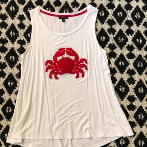 Crab 🦀 tank top